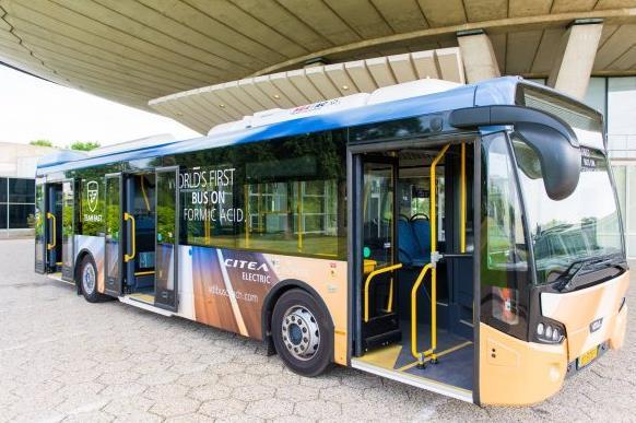 荷兰团队要打造世界第一台用甲酸当燃料的巴士